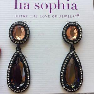 Lia Sophia Earrings.